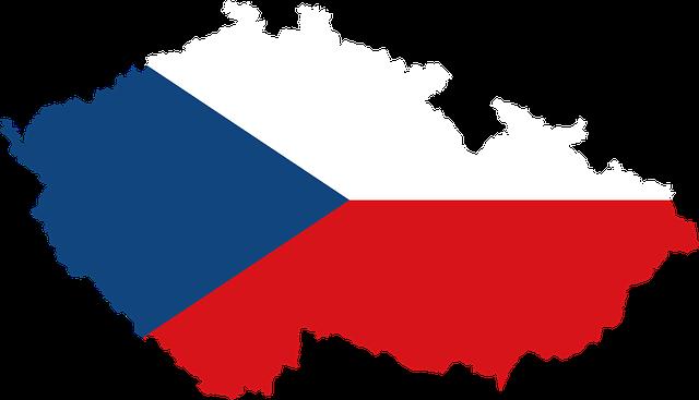 vlajka, česká republika