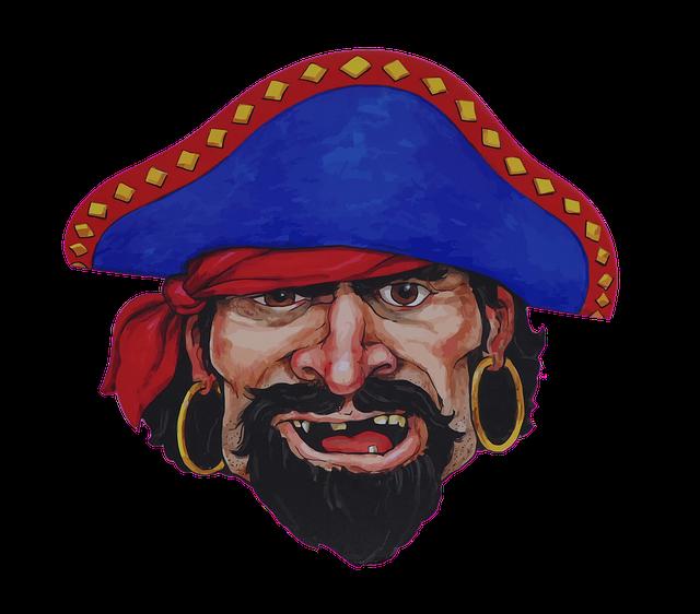 bezzubý pirát