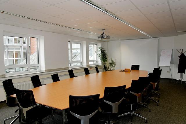 židle, stůl, kancelář