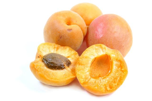 čerstvé meruňky