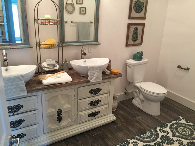 koupelna, záchod, skřínka