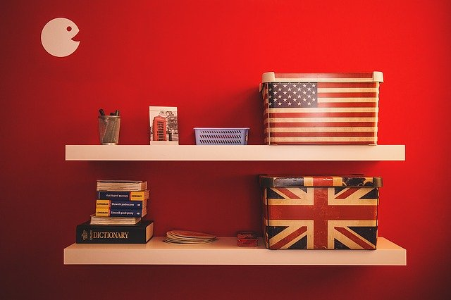 americké dekorace