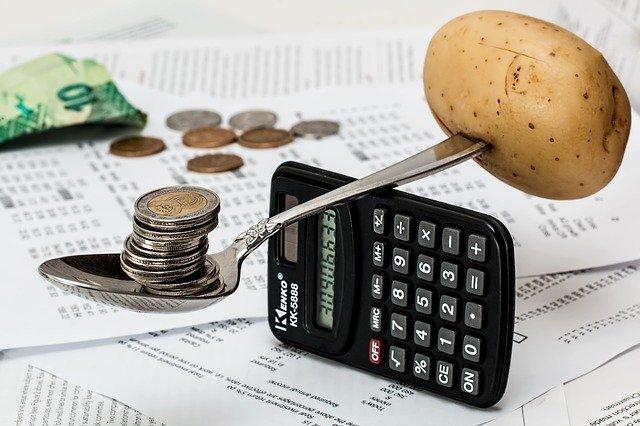 kalkulačka a rozpočet