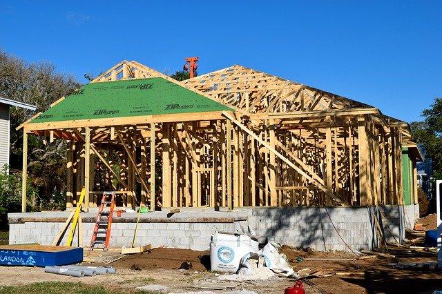dřevěná kontrukce