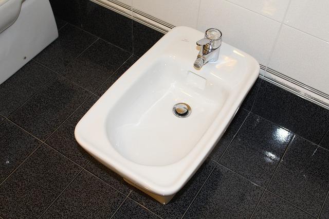 bidet v koupelně